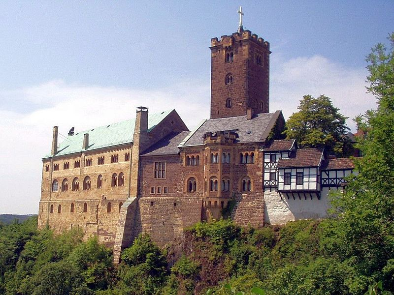 The Wartburg: Luther´s refuge