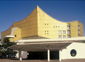 Home of the Berlin Philharmonic Orchestra: The Philharmonie, built in 1964